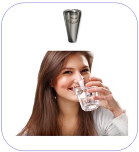 Kraan-Watervitaliser Leliveld Acqua Gocciola