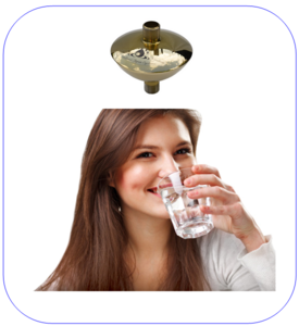 Woning-Watervitaliser Acqua Oriënte d'Oro
